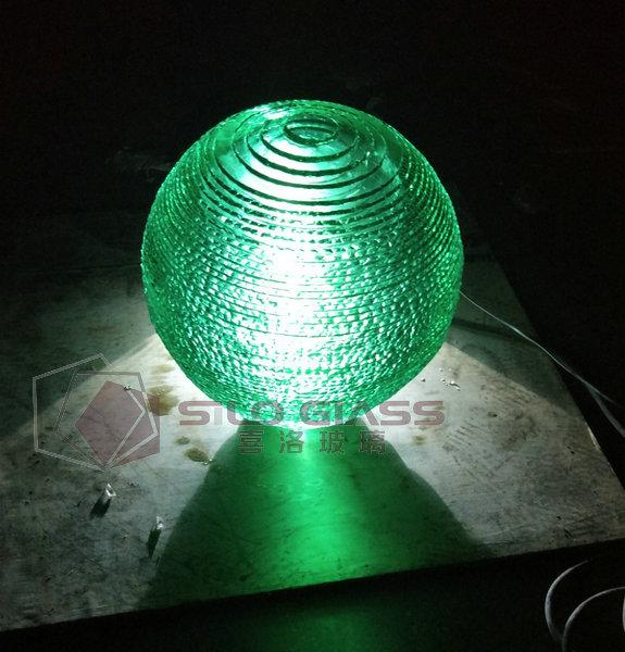 球形艺术玻璃