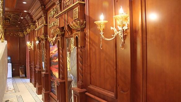 生态木饰面护墙板装饰效果