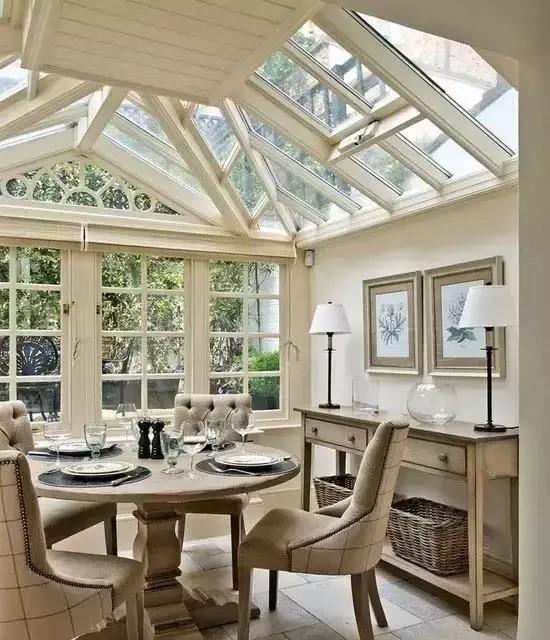 高颜值阳光房!您家的露台做了阳光房吗?