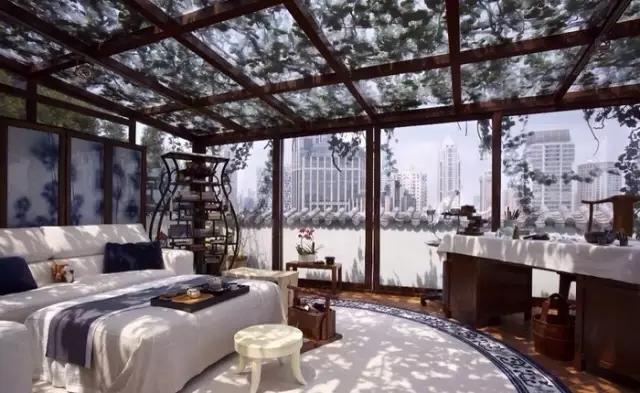 铝合金阳光房设计——上海阳光房情调一种浪漫情怀