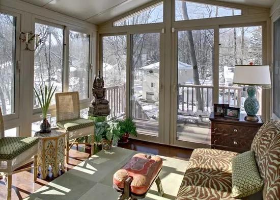 阳光房设计注意事项和施工方案,看完定制自己的阳光房