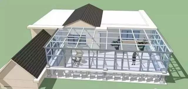 露台阳光房设计 露台阳光房装修效果图