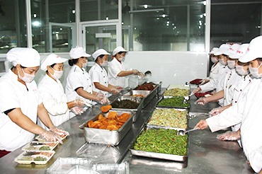 上海盒飯配送,應該選擇形成規模的盒飯配送公司