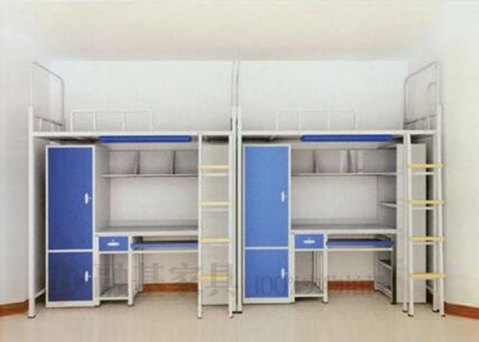 融基家具多功能双层铁床