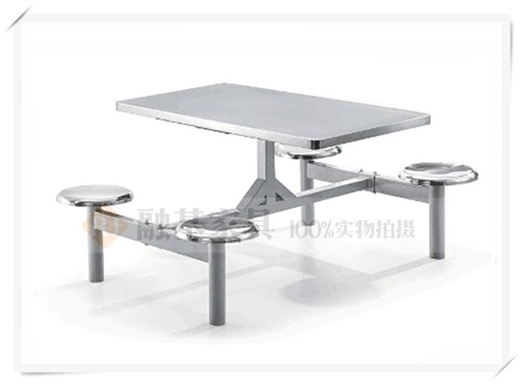 融基家具不锈钢食堂餐桌椅