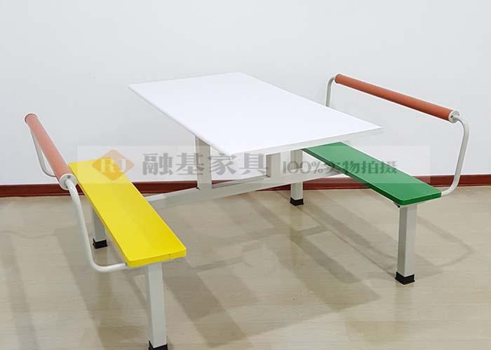 融基家具连体餐桌椅