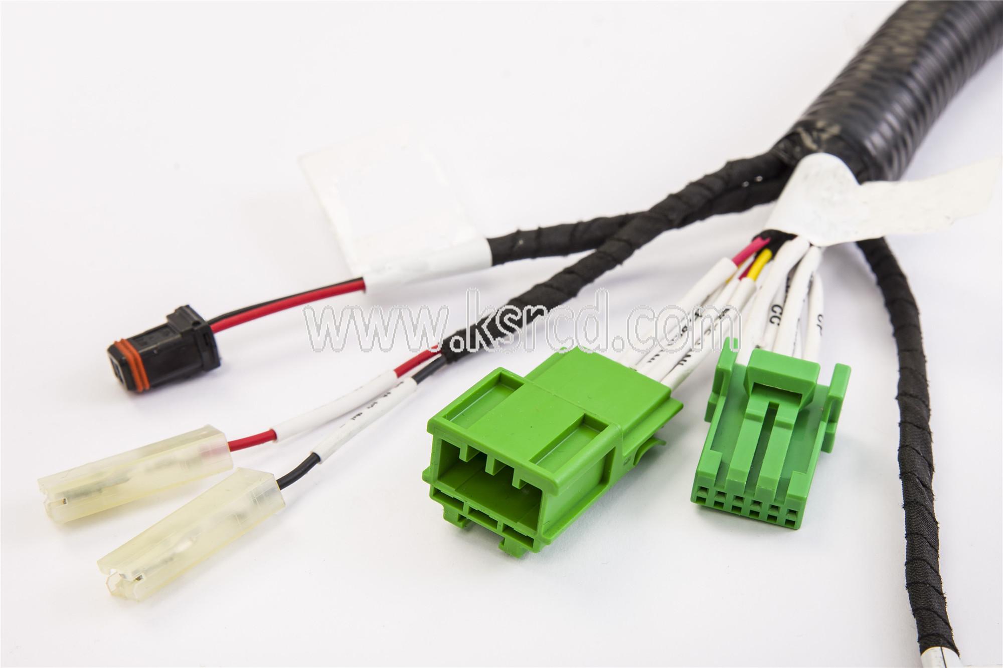 Automotive Engine ECU Wire Harness
