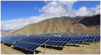 西藏山南地区桑日光伏发电