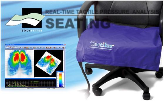 SPI TACTILUS汽车坐垫压力分布测量系统