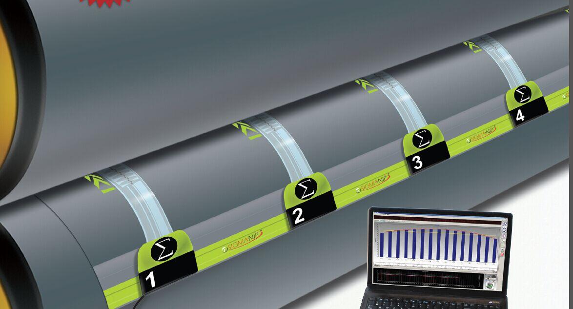 SigmaNip辊轮压间距测量系统