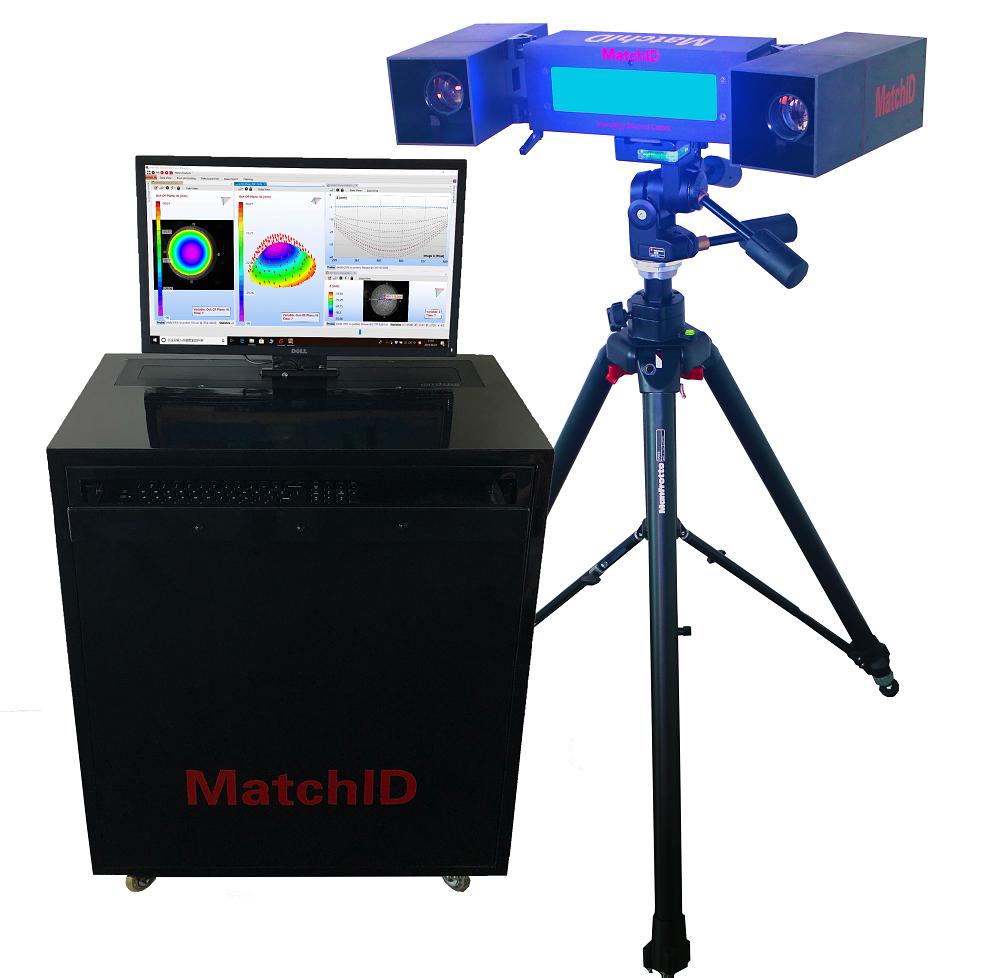 MatchID-3D三维全场应变测量系统