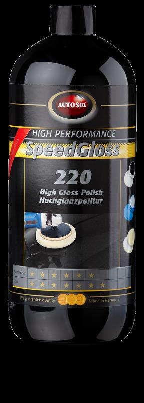 Autosol Speed Gloss 220高亮抛光剂(中蜡)