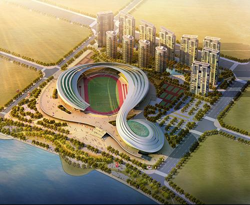 在建重大工程分享-四川遂宁体育中心【应用案例】