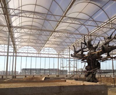哈密西戈壁农业示范园生态酒店应用案例