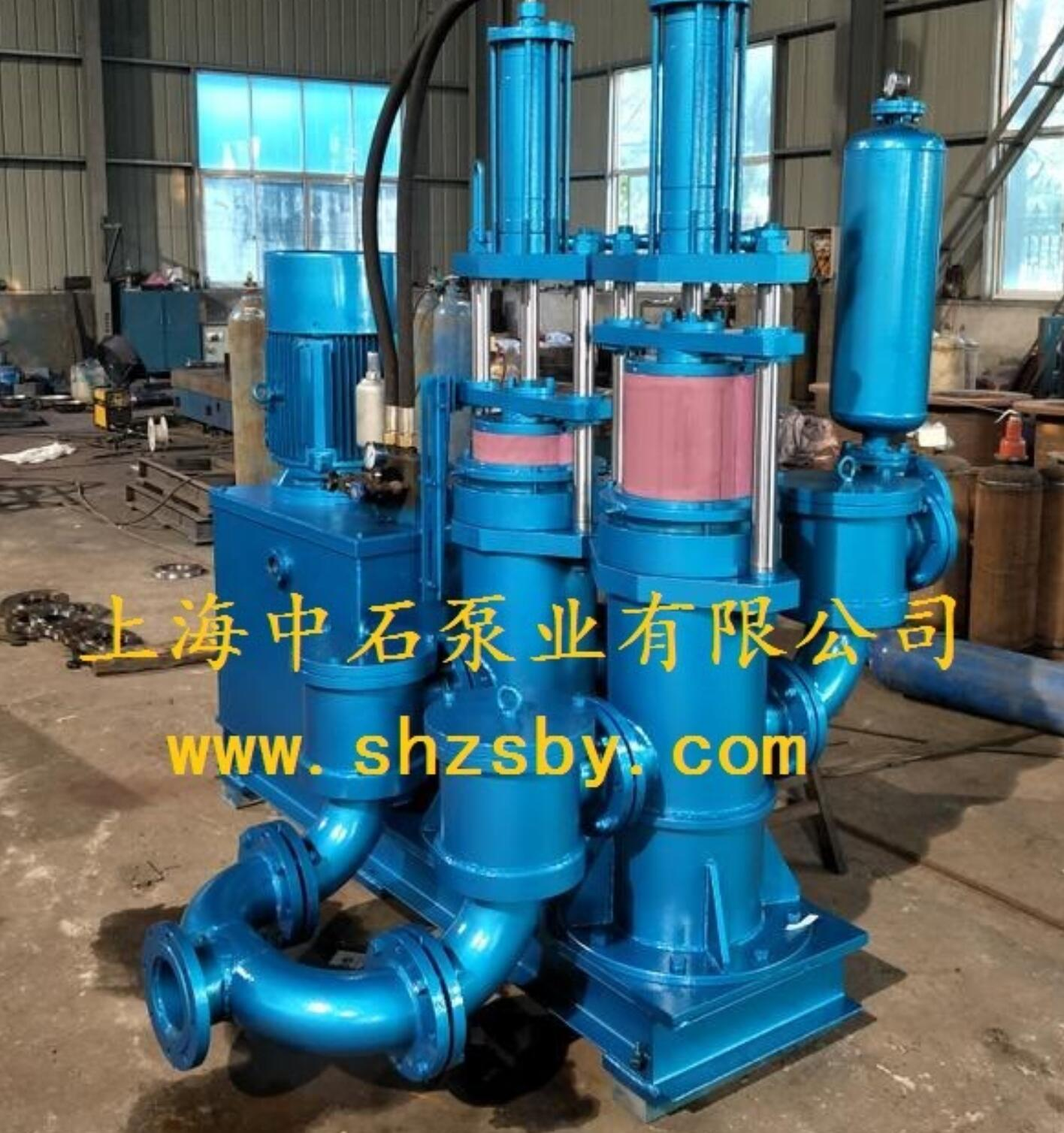 柱塞泥浆泵 液压驱动污泥柱塞泵 陶瓷泥浆液压柱塞泵 上海中石泵业有限公司