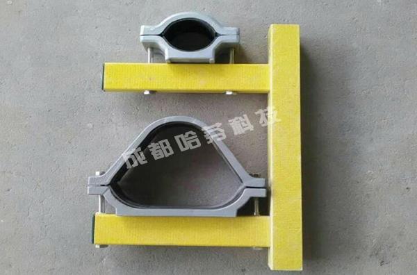 矩管型玻璃钢托臂配抱箍