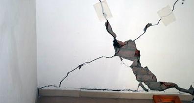 上海同瑞提醒您:房屋开裂怎么办?