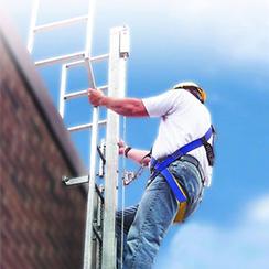垂直爬梯保护系统