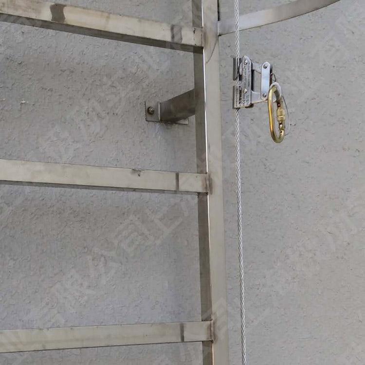 爬梯防坠装置