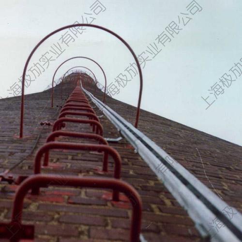 垂直爬梯轨道防坠装置