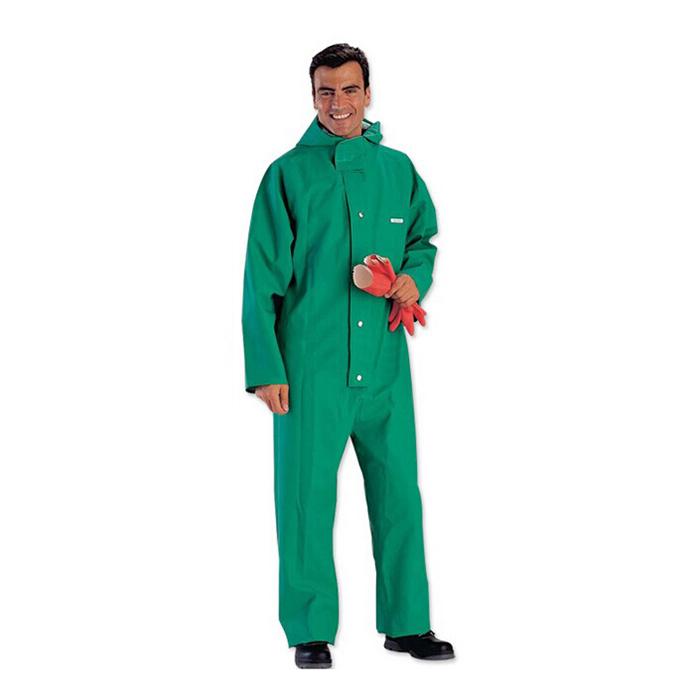 PVC涂层液密连体防化服