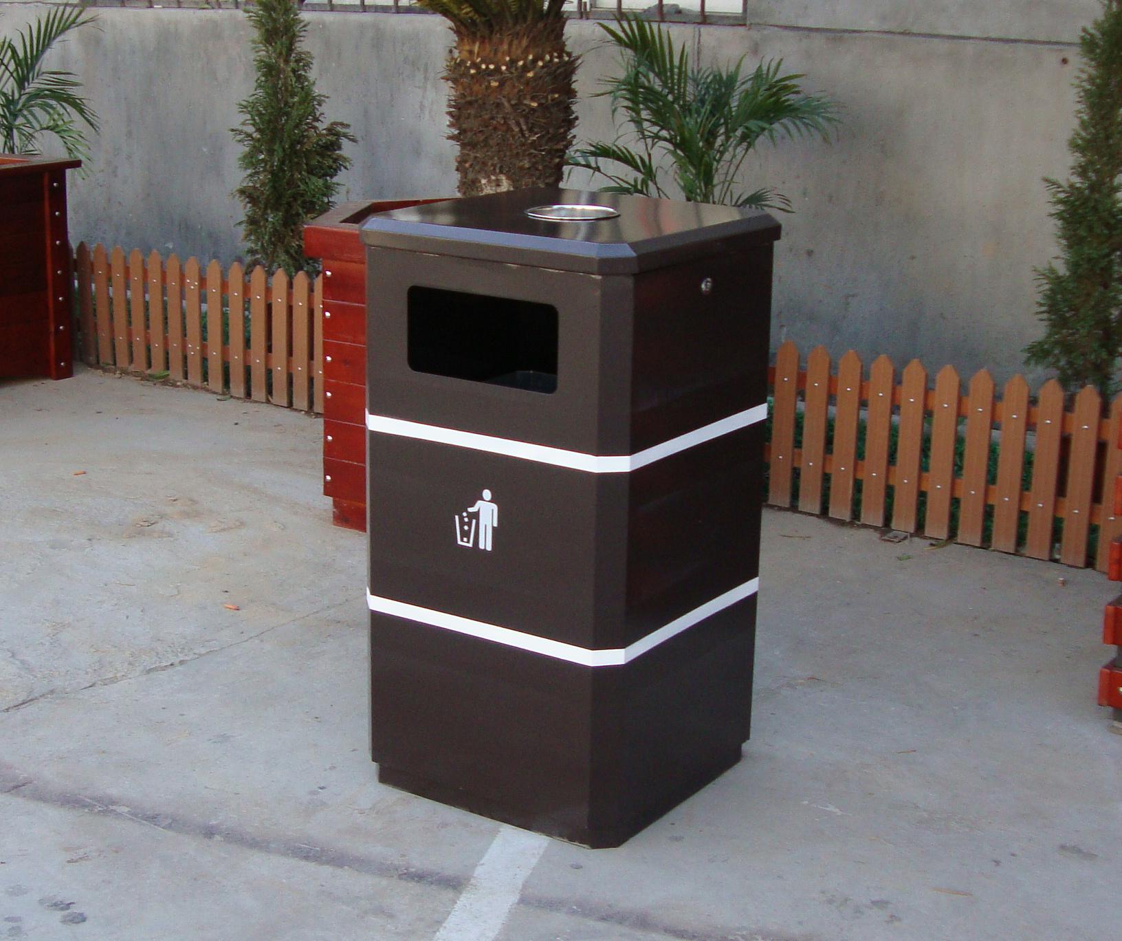 单桶垃圾桶XB1-071