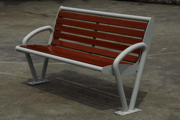 钢木结构座椅XA2-078
