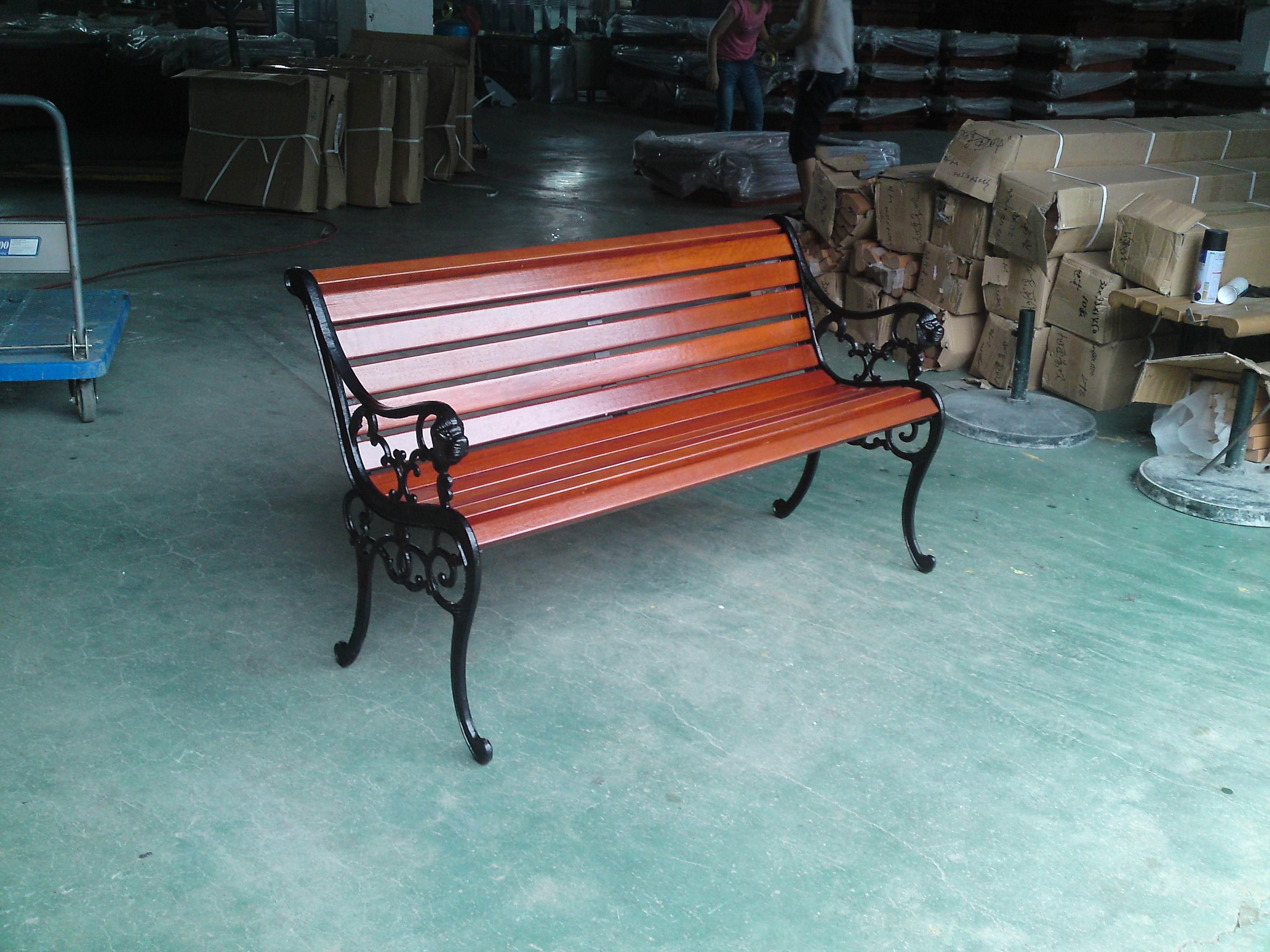 钢木结构座椅XA2-099