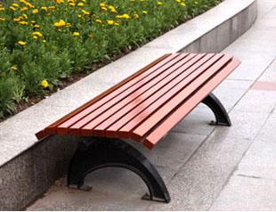 钢木结构座椅XA2-086