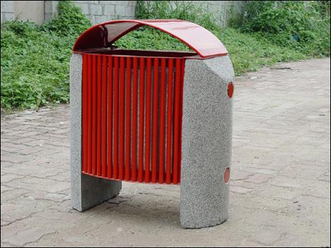 单桶垃圾桶XB1-013