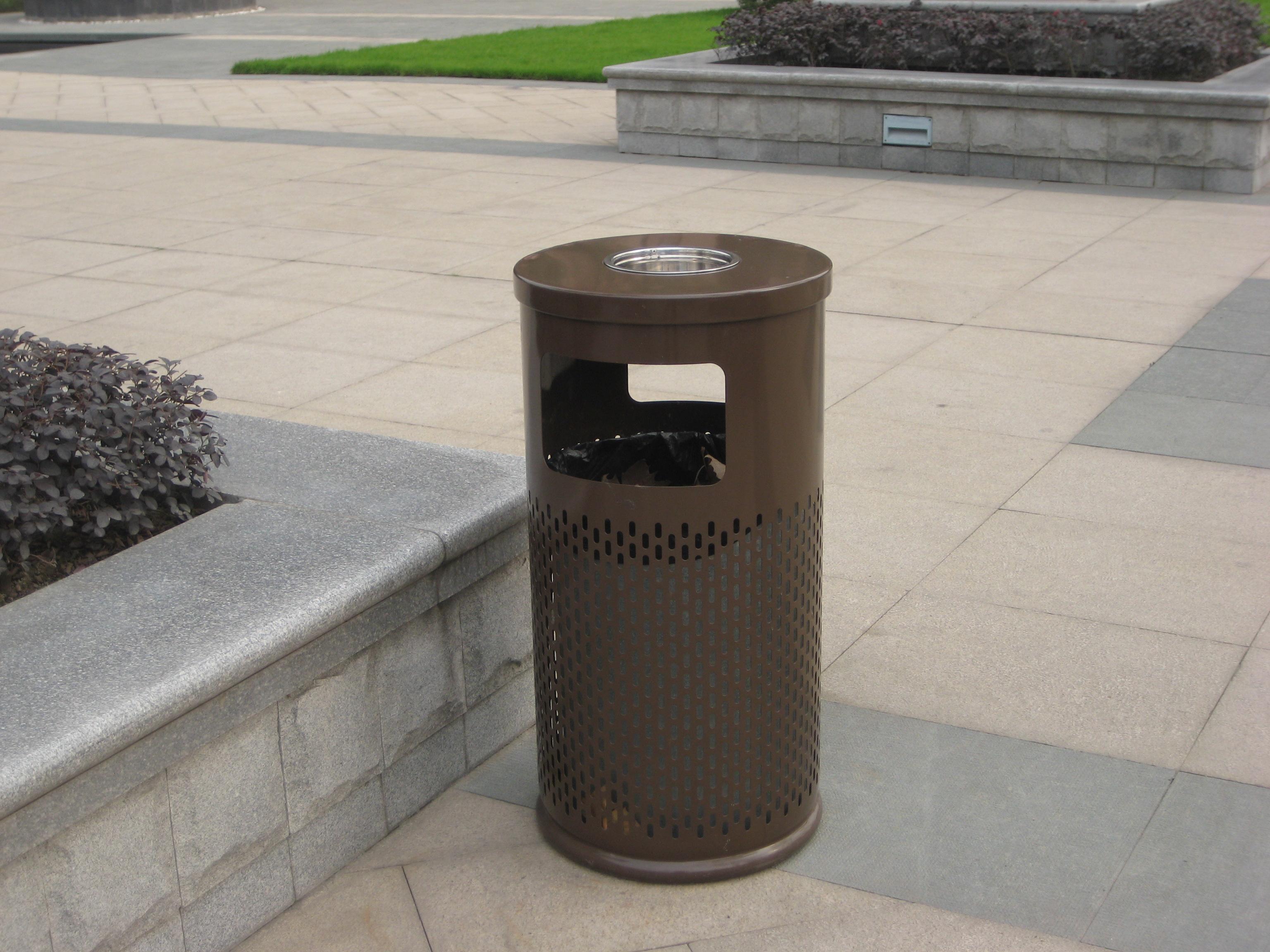 单桶垃圾桶XB1-015