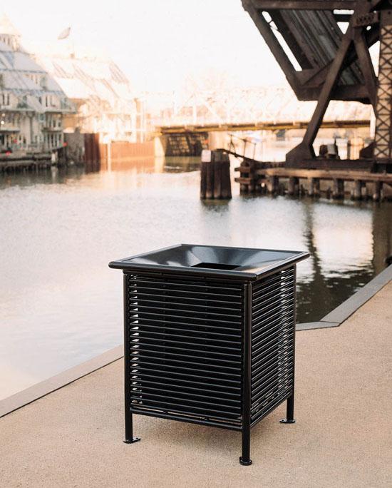 单桶垃圾桶XB1-030