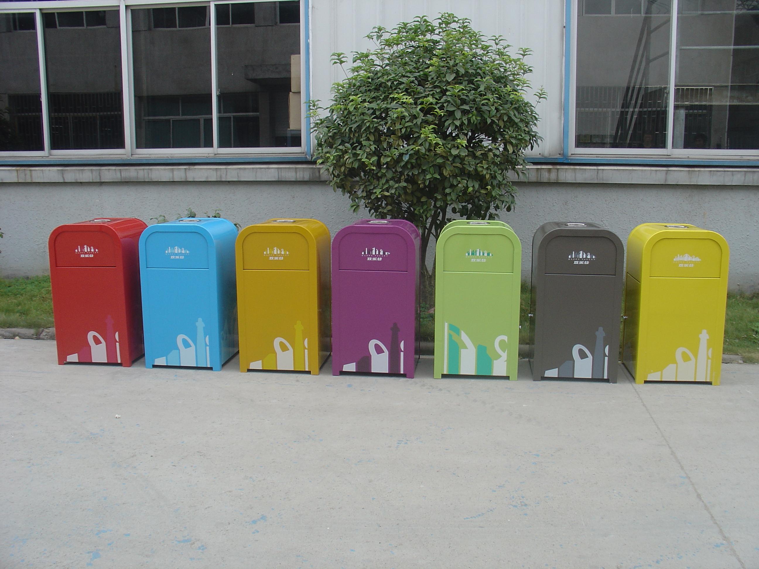 单桶垃圾桶XB1-070