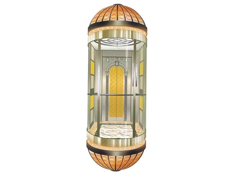 泉州观光电梯保养介绍观光电梯安装必须注意的事项
