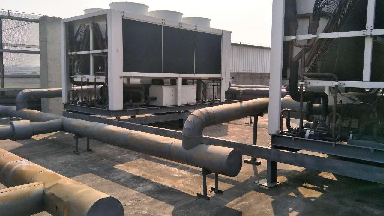风冷热泵模块中央空调安装