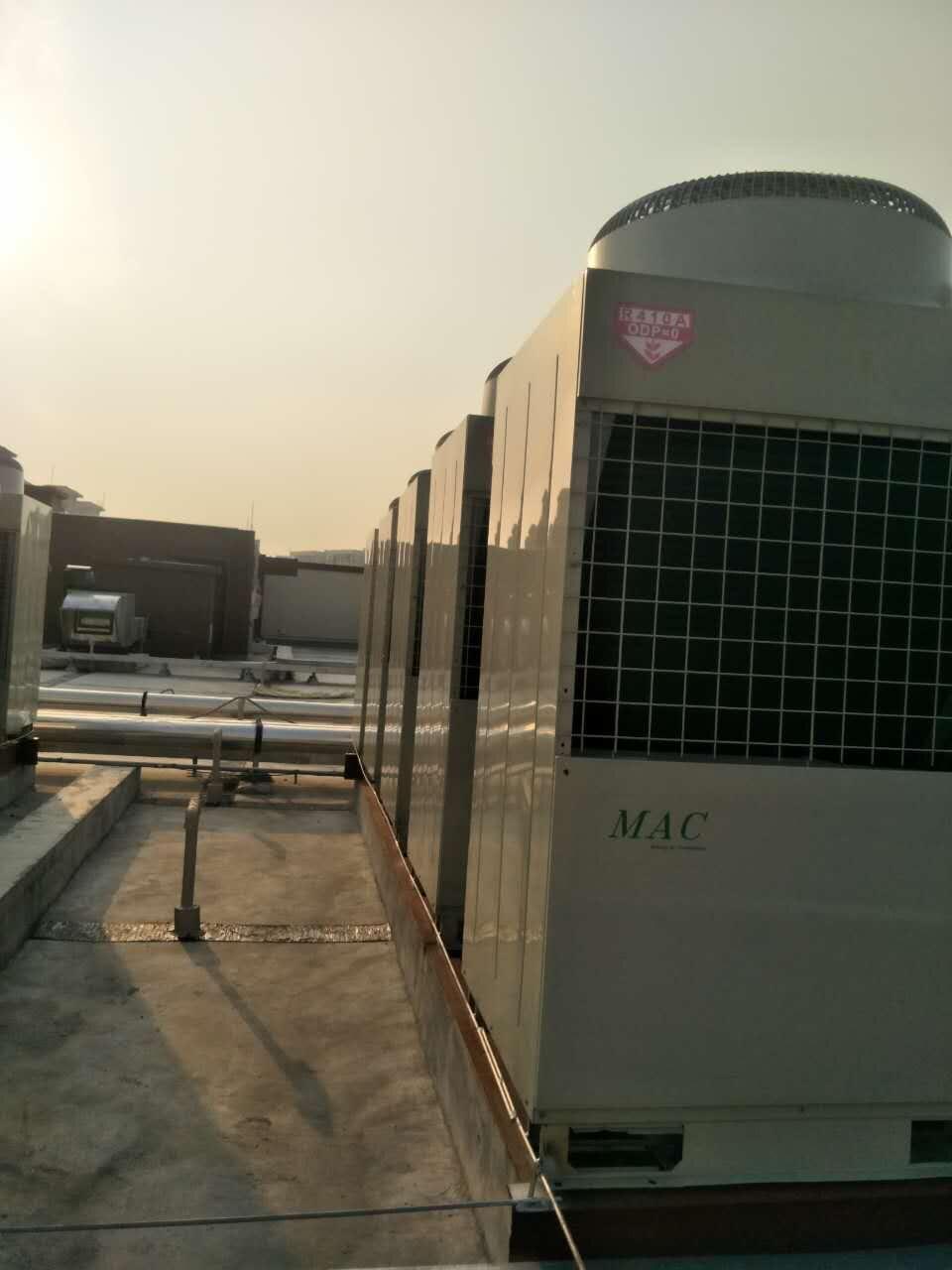 风冷热泵模块中央空调
