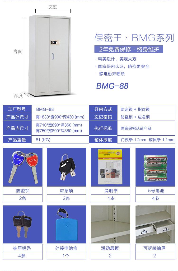BMG-88参数规格