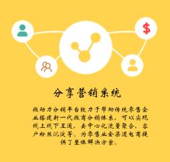 分享营销系统