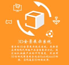 3D全景展示系统