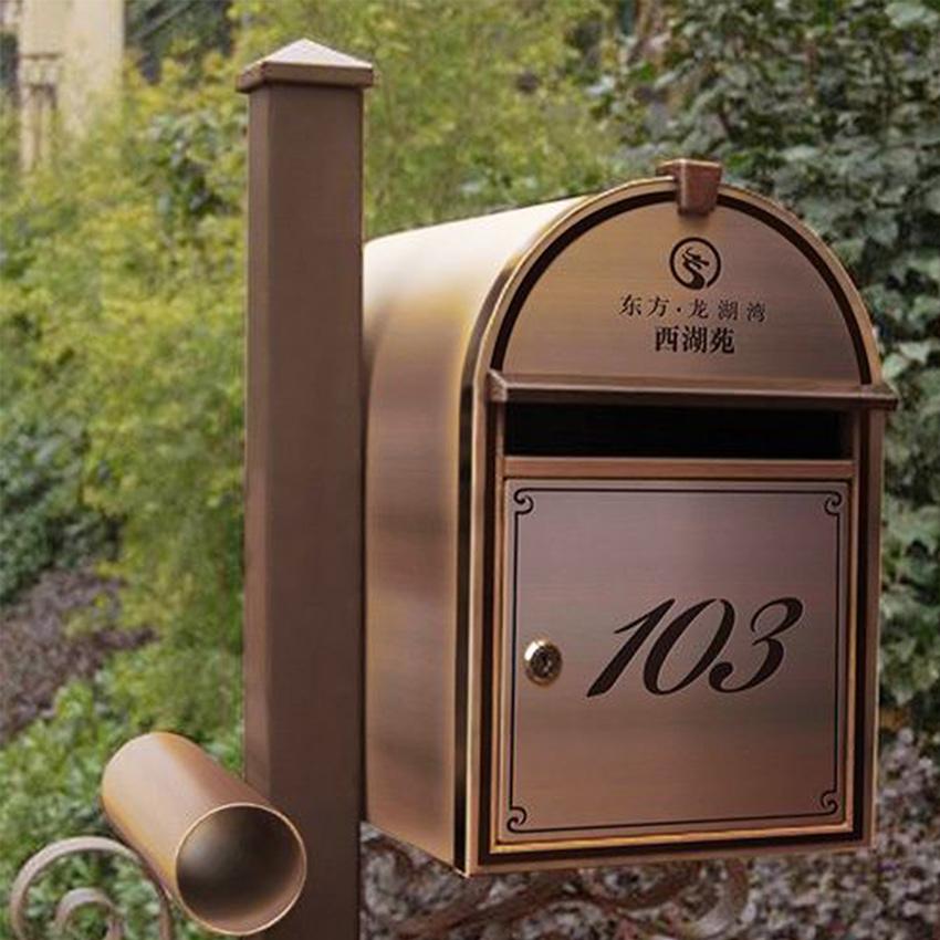 邮箱标识牌