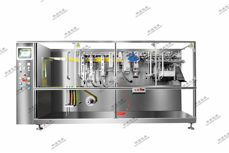 上海骅呈水平卷膜包装机