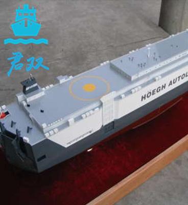 滚装船模型