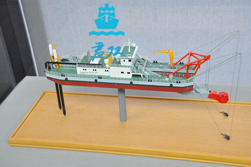 挖泥船模型
