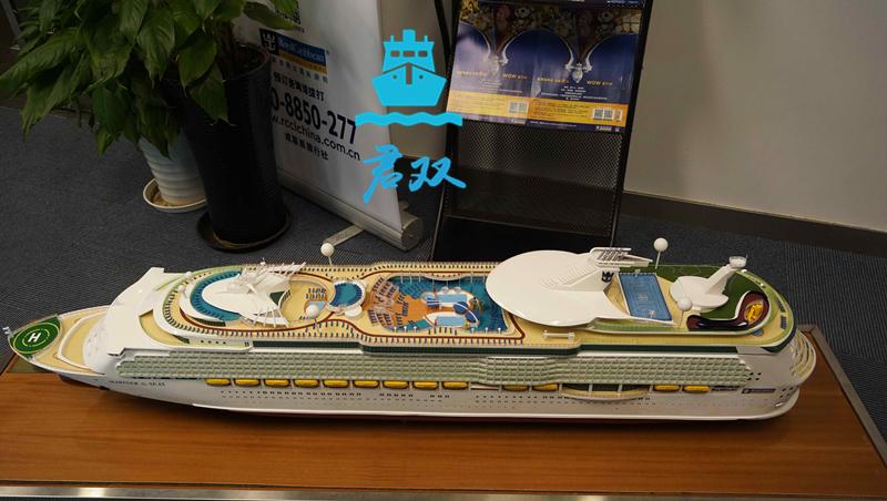 豪华游轮模型