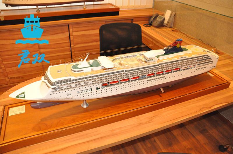豪华邮轮模型