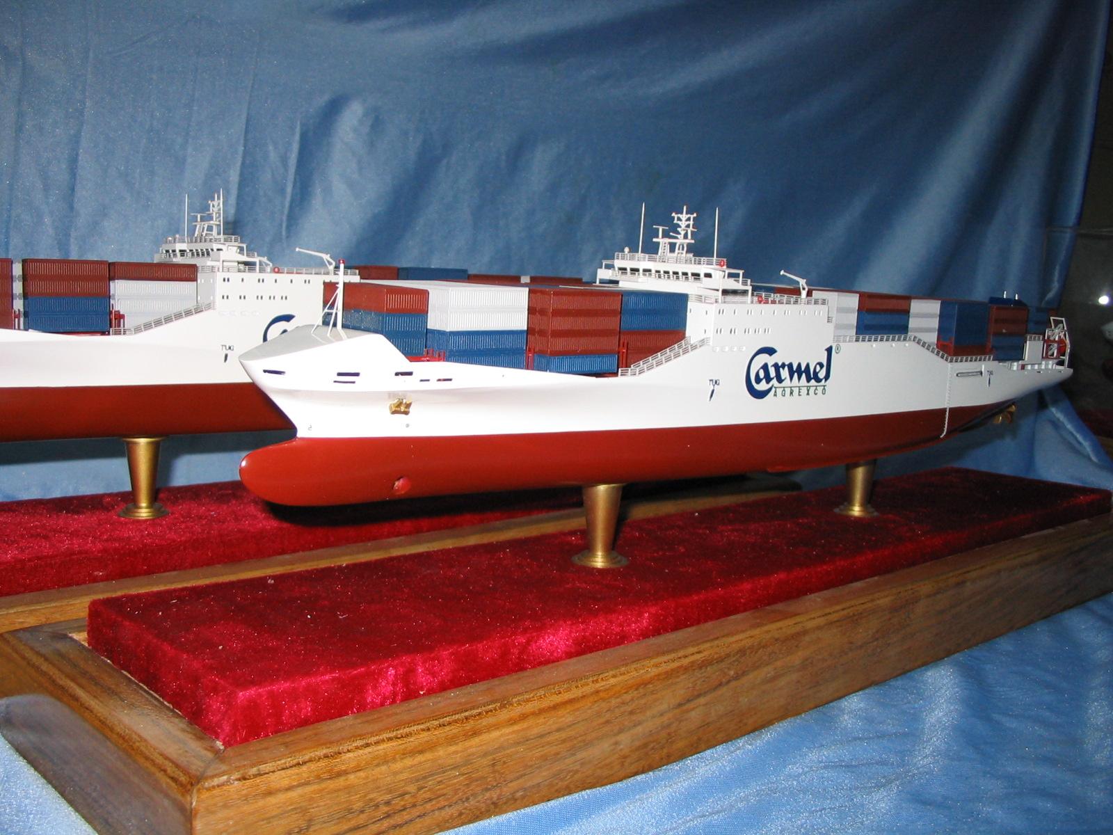 集装箱船模型制作