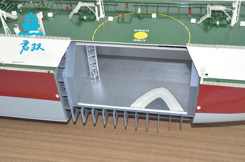 船舶解剖模型