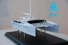 双体游艇模型