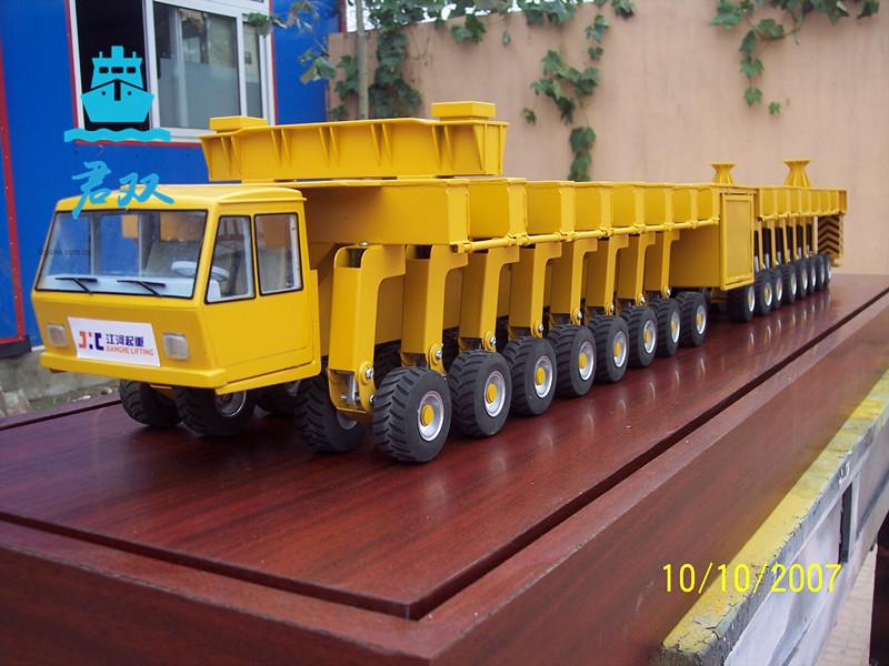 大型运输车模型
