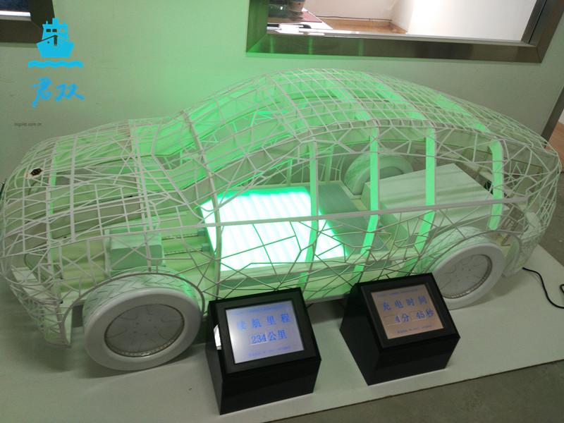 新能源展示车模型